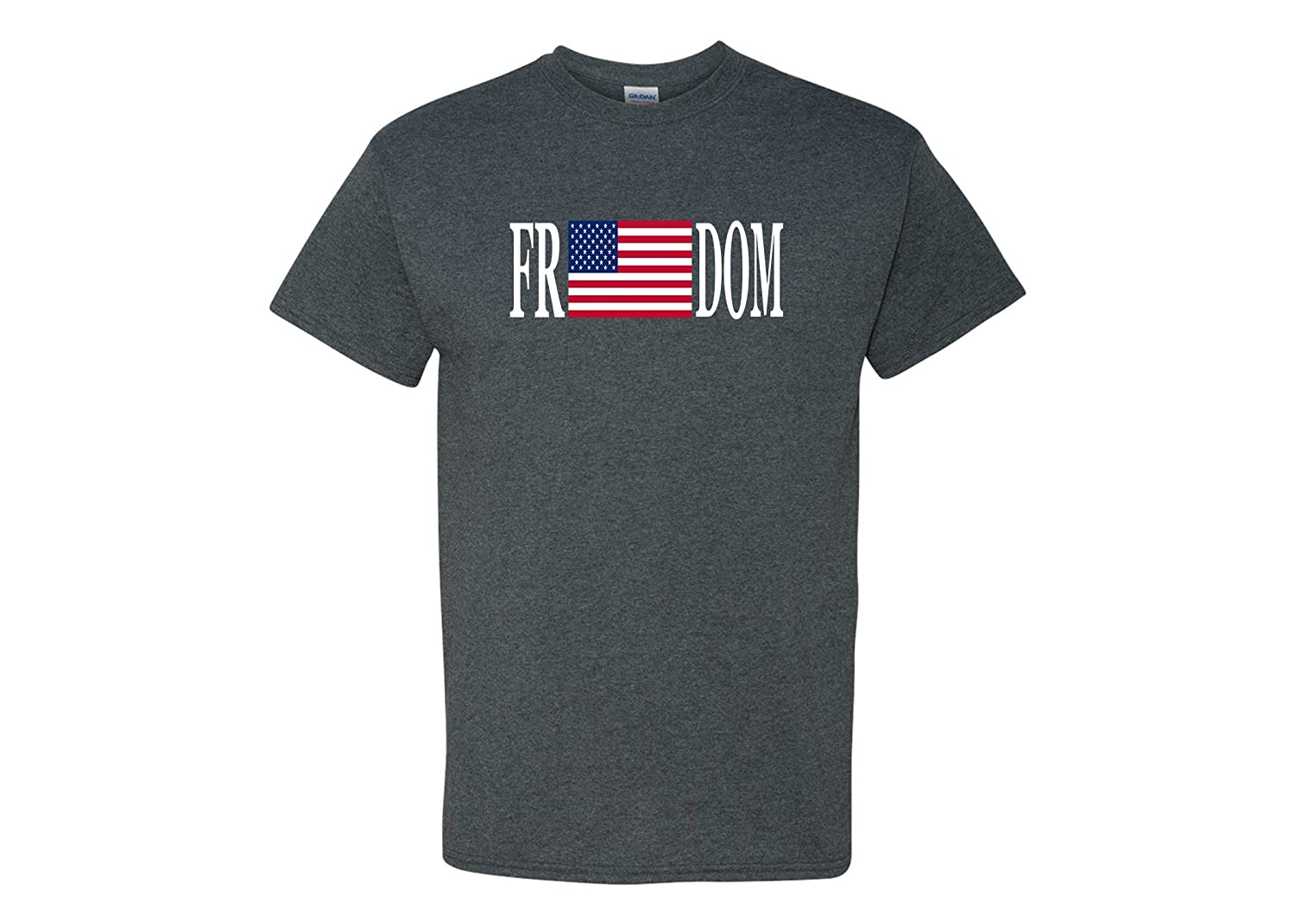 8e76982fa FREEDOM T-Shirt US Flag Shirt Show Support For Your Flag And Your Military  New Custom Design For Men Casual T Shirt This Cool Graphic Tee Shirt Makes  A ...