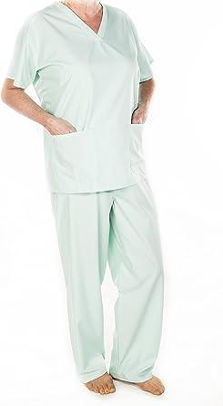 Medical Medical Medical Medical Medical Medical Medical Hospital Tunique et pantalon Unisexe Vert Taille XXL