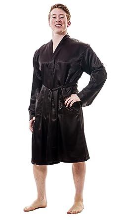 Mens satin robe amazon