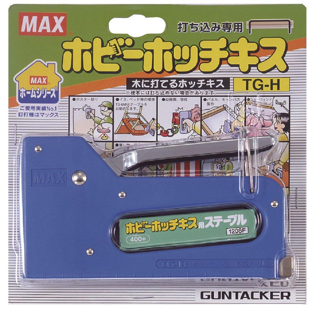 マックス MAX ホチキス 木に打てる ホッチキス ガンタッカー TG-H