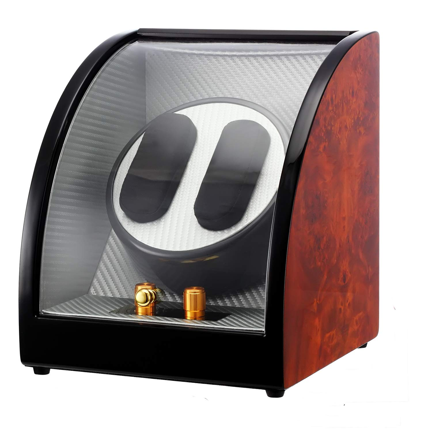 CHIYODA Automatic Double Watch Winder-12 Rotation Modes