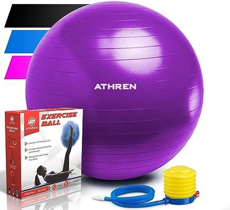 Pelota de ejercicio con bomba (diferentes tamaños y colores). Bola ...