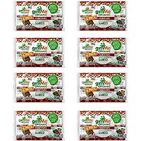 gimMe Snacks - Organic Roasted Seaweed - Teriyaki - (.17oz) - (Pack of 48) - non GMO, Gluten Free - Healthy on-the-go…