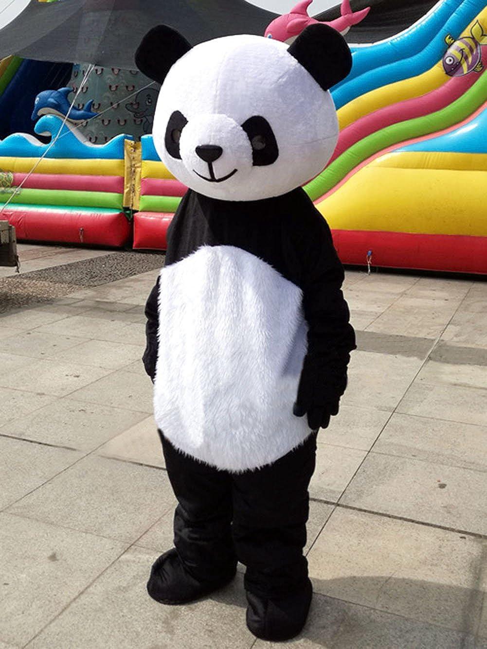 4459753142 Amazon.com  Panda Mascot Costume Panda Costume Adult Halloween Fancy Dress   Clothing