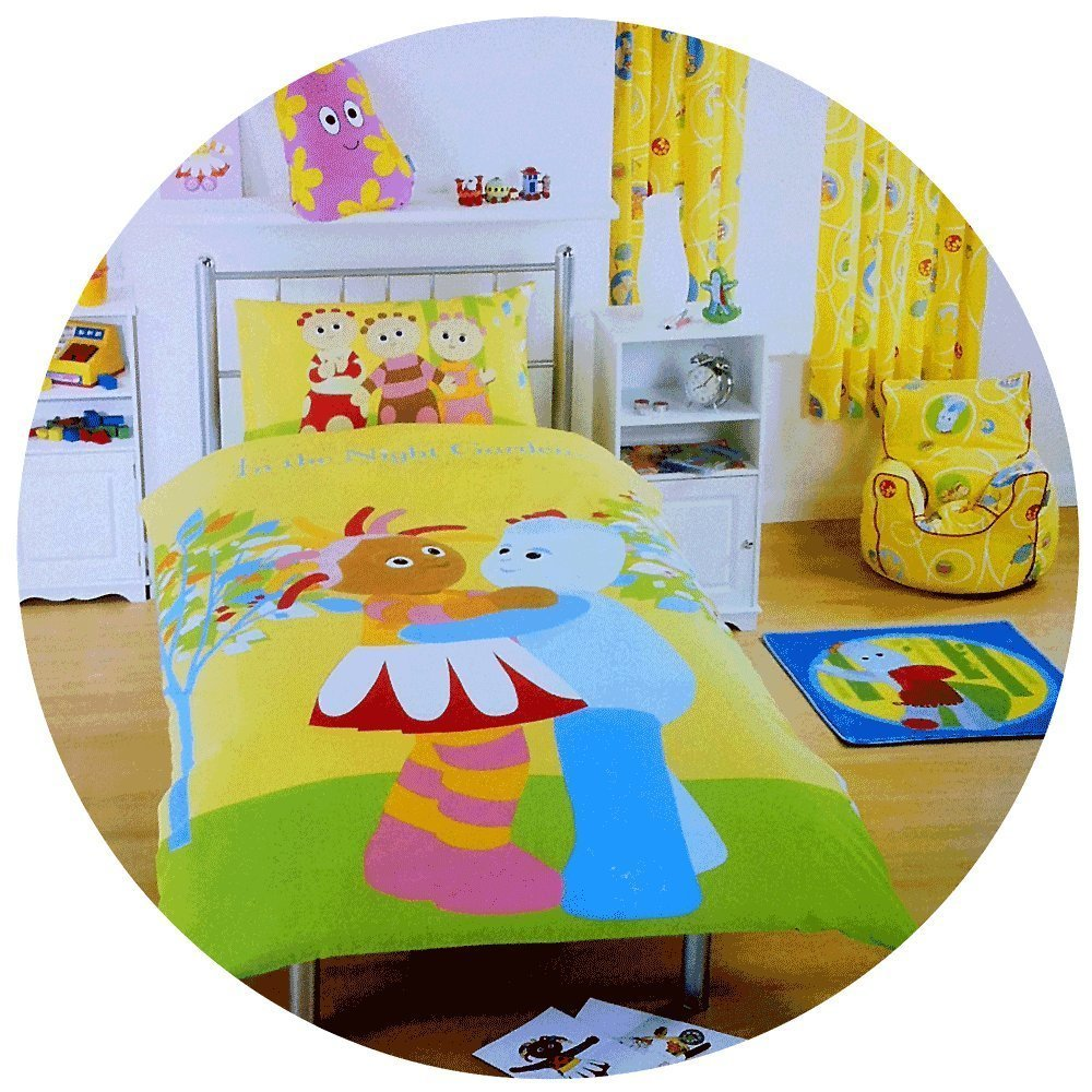 In The Night Garden Furniture In the night garden single duvet cover set iggle piggle upsy daisy in the night garden single duvet cover set iggle piggle upsy daisy amazon kitchen home workwithnaturefo