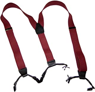 product image for Holdup Burgundy Limited Edition Larry King Signature Series Suspenders