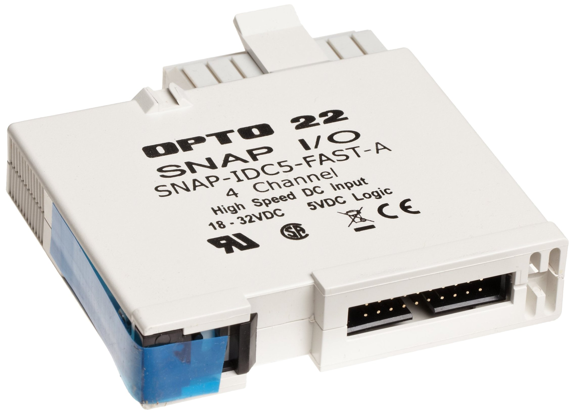 Opto 22 SNAP-IDC5-FAST-A - SNAP High-Speed Digital (Discrete) Input Module, 4-Channel, 18-32 VDC/VAC