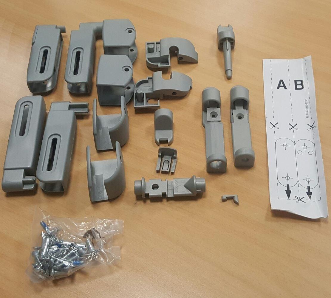 BabyDan Premier and Avantgarde Fittings Kit BabyDan Range of Stair Gates Spare Fitting Kits