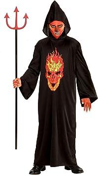 WIDMANN 00336 - Campeón Esqueleto Disfraz Niño, túnica con ...
