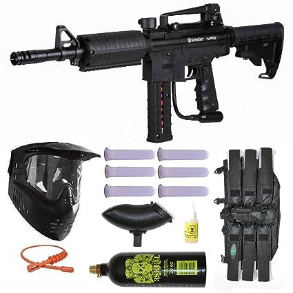 Amazon Com Spyder Mr6 Paintball Marker Gun Magazine Fed 3skull