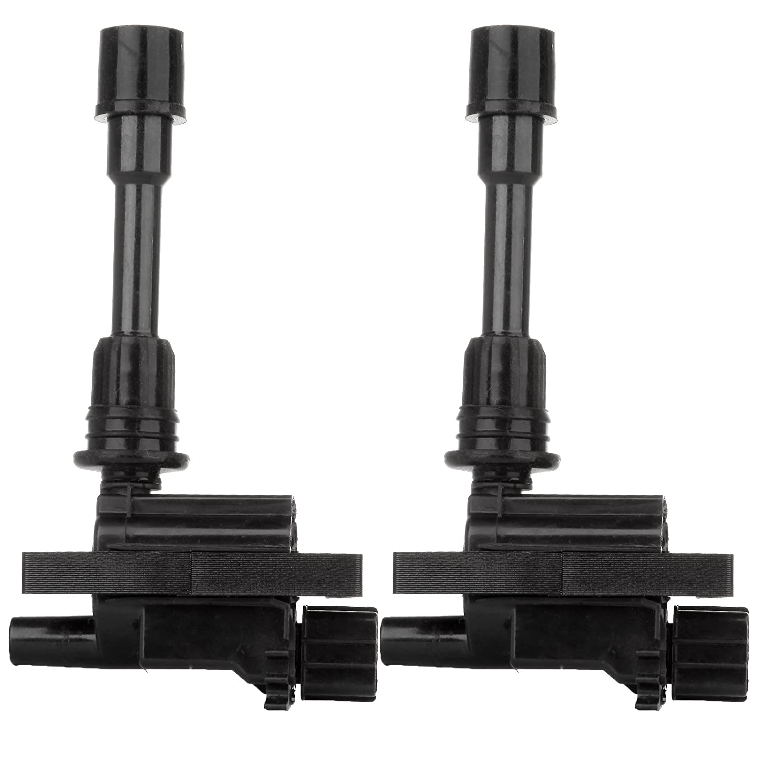 ECCPP Ignition Coils Pack of 2 Compatible with Mazda Protege Mazda Protege 5 2001-2003 Replacement for UF407 5C1208 C1340