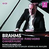 Brahms: Piano Concertos, Piano Works, Violin Sonatas, Piano Trios, Piano Quartets (10CD)