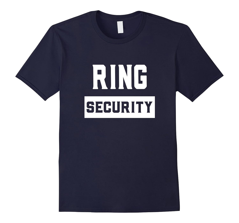Wedding Ring Security Tshirt Ring Bearer Best Man TeeTD Teedep