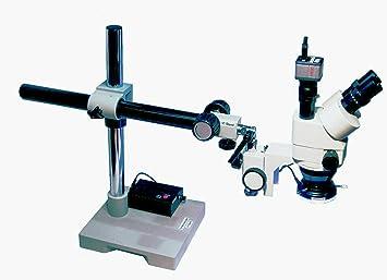 Gx mikroskopie xtl3t serie 7x 90 x stereo mikroskop: amazon.de: kamera