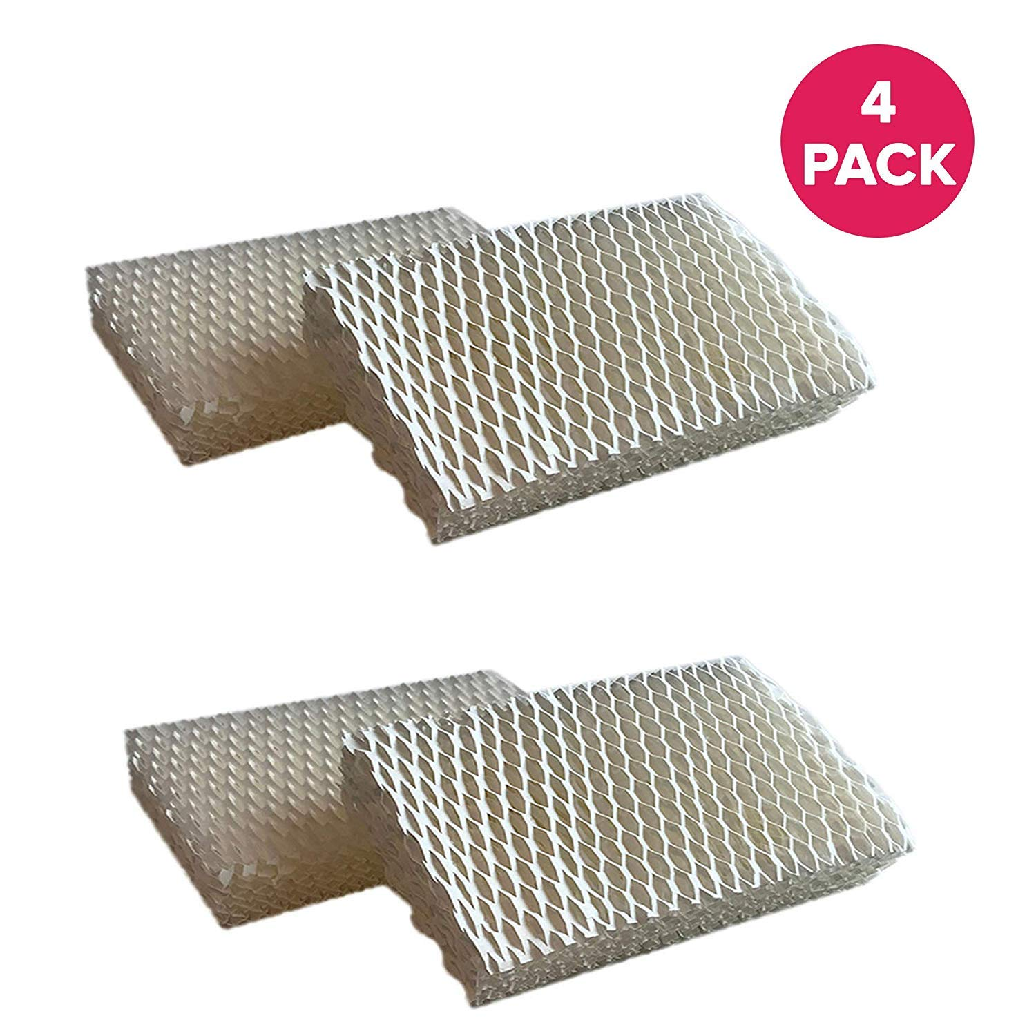 D13-C Crucial Air Filter Replacement Parts Compatible With Honeywell Part # AC-813 D-13 Simple Easy Use For Home Vacuum - Fits Honeywell HCM-525 Humidifier Wick Filters 4 Pack