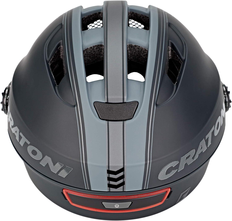 Cratoni Evo E-Bike Fahrradhelm //// Schwarz//Anthrazit Matt
