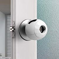 Childproof Door Knob Covers Babyproof (4 Pack) Child Door Locks Door Handle Baby Proofing Door Safety for Kids by…