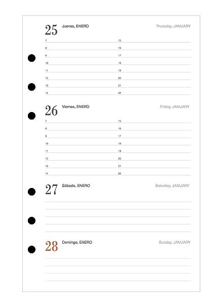 Miquelrius 29040 - Agenda anualidad semana vista activa 2019 ...