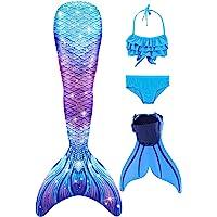 zeemeermin staart met bikini en monopvin SPEEDEVE cosplaykostuum voor meisjes