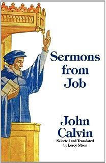 Sermons On Job John Calvin 9780851516448 Amazon Books