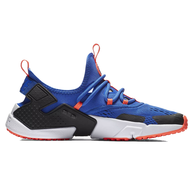 Nike Mens Air Huarache Drift Breathe Mesh Trainers  44 EU|Racer Blue Black