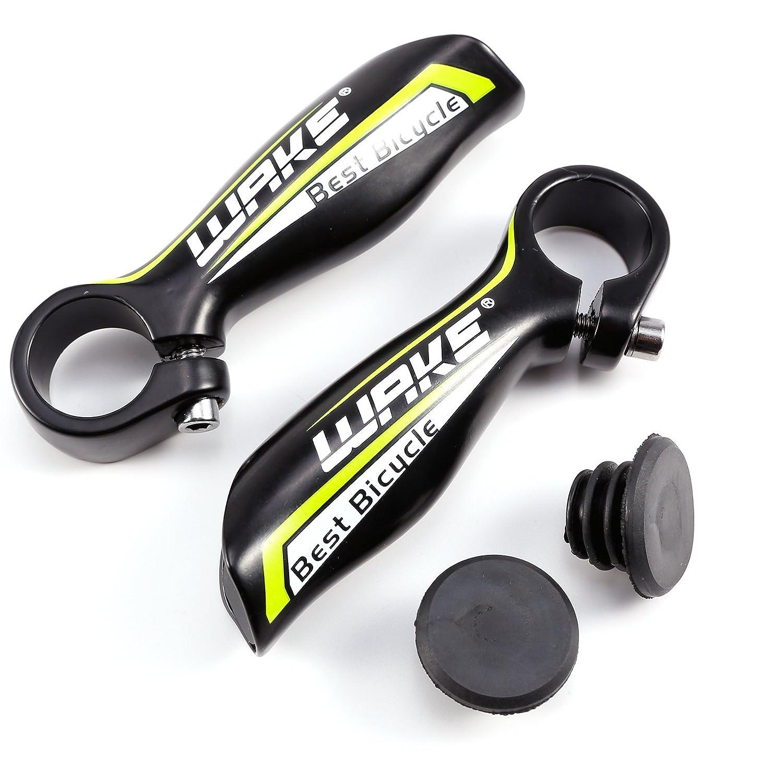 CLE DE Tous - Manillar Acoples para Bicicleta de Montaña MTB BMX Ciclismo Diámetro 22.2mm en Colores (Negro& azúl) Hamimelon