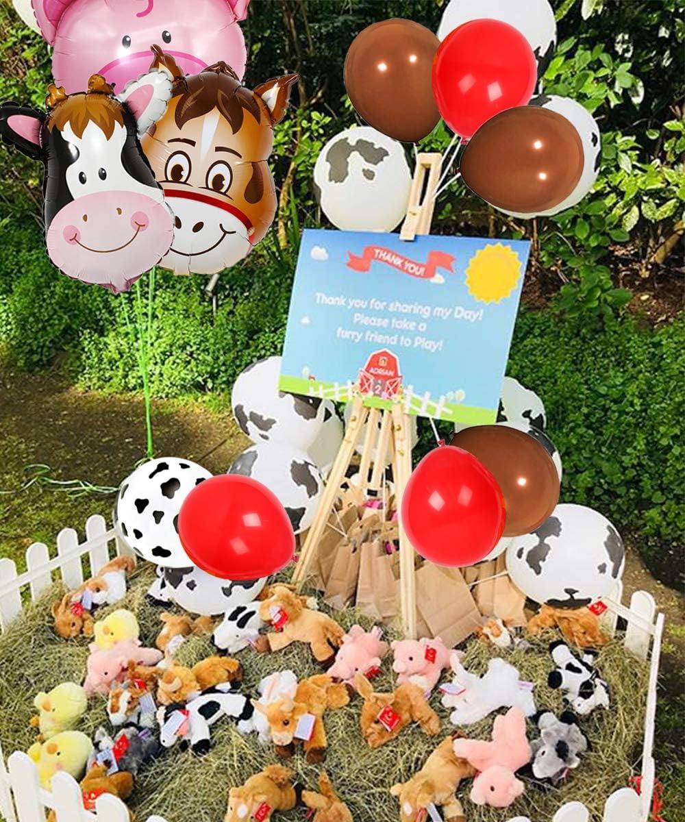 Fiesta Cumpleaños Gama Animales Vajilla Suministros Decoración Granja Fun