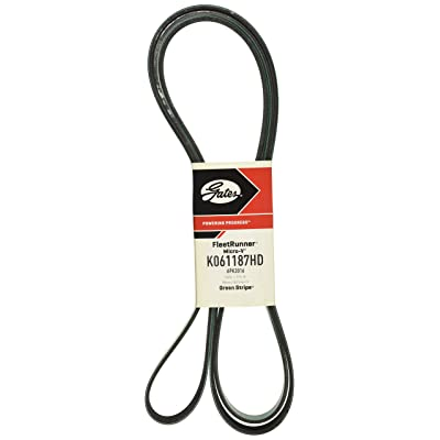 Gates K061187HD Belt: Automotive