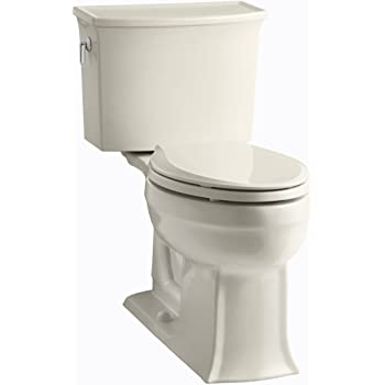 Kohler K 3551 47 Archer Comfort Height Two Piece Elongated