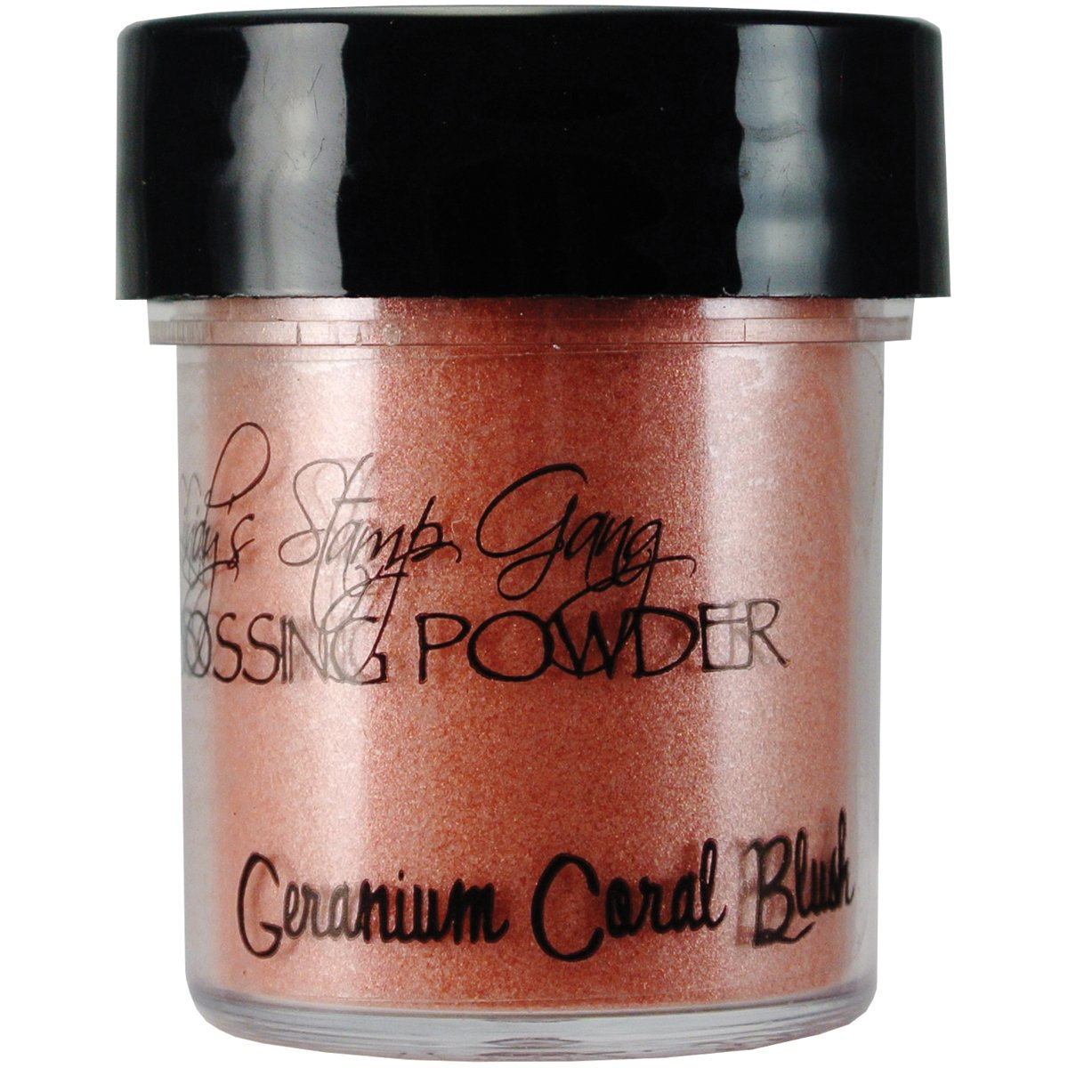 Lindy's Stamp Gang 2-Tone Embossing Powder, 0.5-Ounce, Geranium Coral Blush Lindy' s 401061