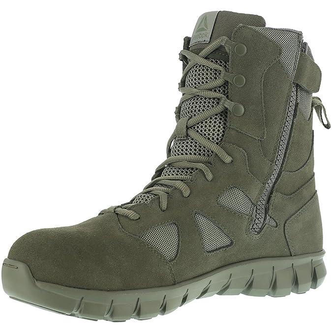 f7f213ca2fd2a5 Amazon.com  Reebok Men s Sublite Cushion Tactical RB8881 Military Boot   Shoes