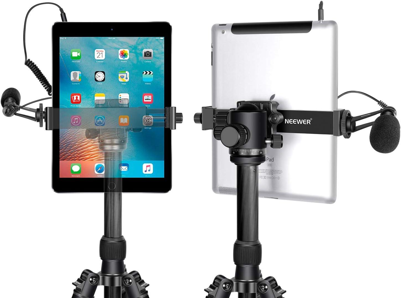"Universal Adjustable Tripod Mount Holder Bracket Adapter for iPad Tablet 7/""~14/"""