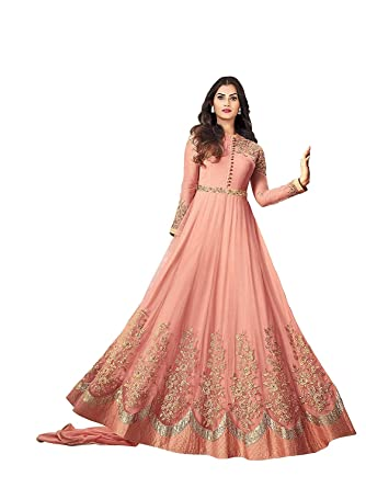 9afe9527892 Nirja Women s Net Embroidered Salwar Suit (1257