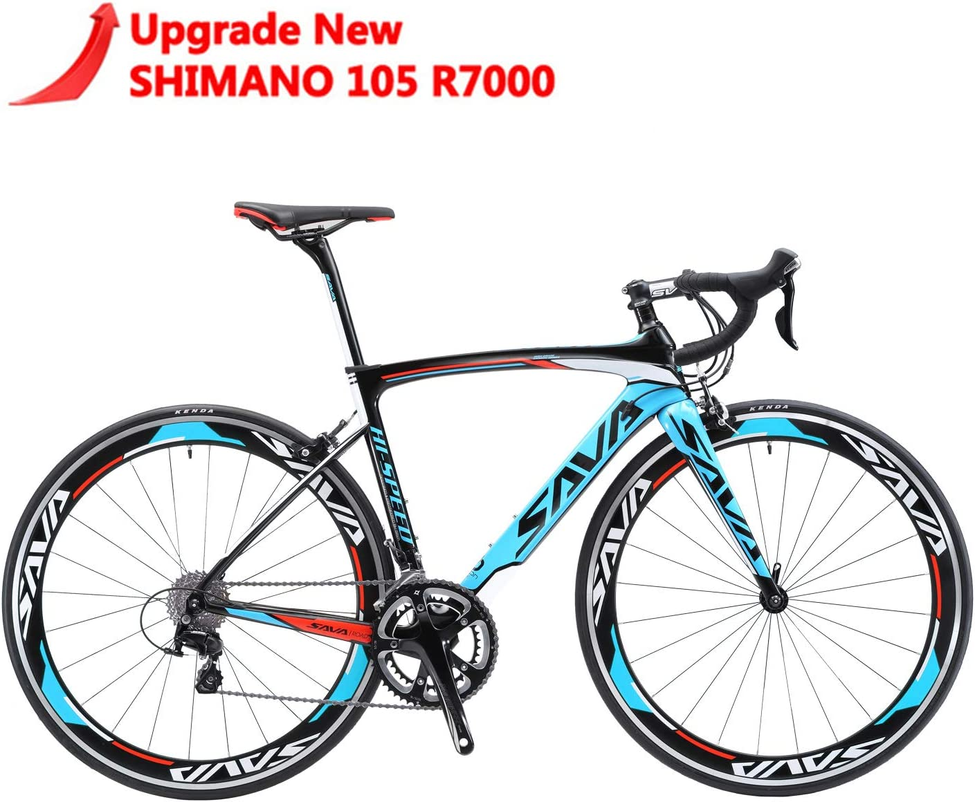 Best road bikes under 2000: SAVADECK Windwar5.0 Carbon Fiber 700C Road Bicycle