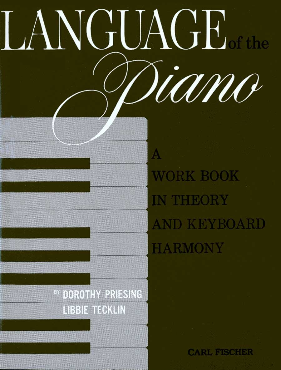O4131 - Language of the Piano by Brand: Carl Fischer Music Dist