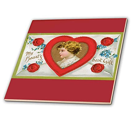 Amazon Com 3drose Bln Victorian Valentines Day Card Reproductions