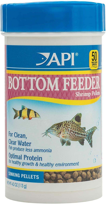 Mars Fishcare North America (2 Pack) API Bottom Feeder Fish - Premium Shrimp Pellets 4 Ounces