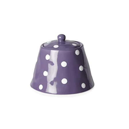 Maxwell And Williams Sprinkle Sugar Bowl Purple By Maxwell