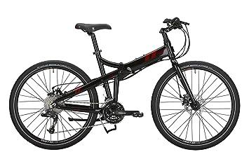 tern Joe - Bicicletas plegables (7/8 velocidades) - negro Tamaño de la