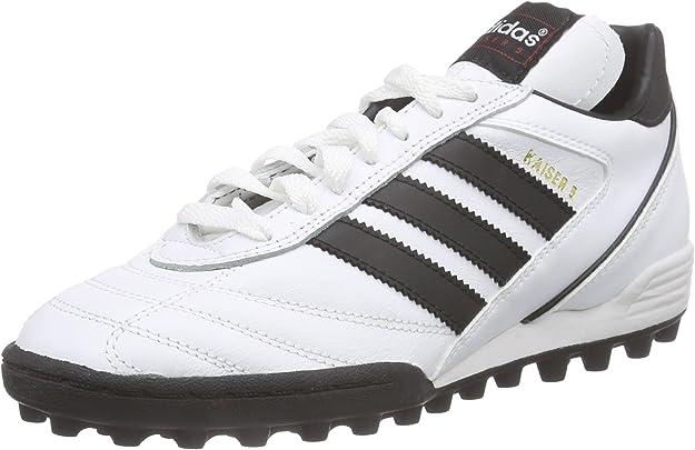 adidas - Botas de fútbol para Hombre Blanco Blanco: Amazon ...