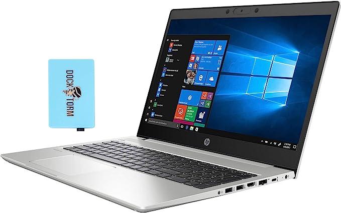 "Amazon.com: HP ProBook 450 G7 Home and Business Laptop (Intel i5-10210U 4-Core, 16GB RAM, 512GB PCIe SSD, Intel UHD Graphics, 15.6"" HD (1366x768), WiFi, Bluetooth, Webcam, 2xUSB 3.1, 1xHDMI, Win 10 Pro) with Hub: Electronics"