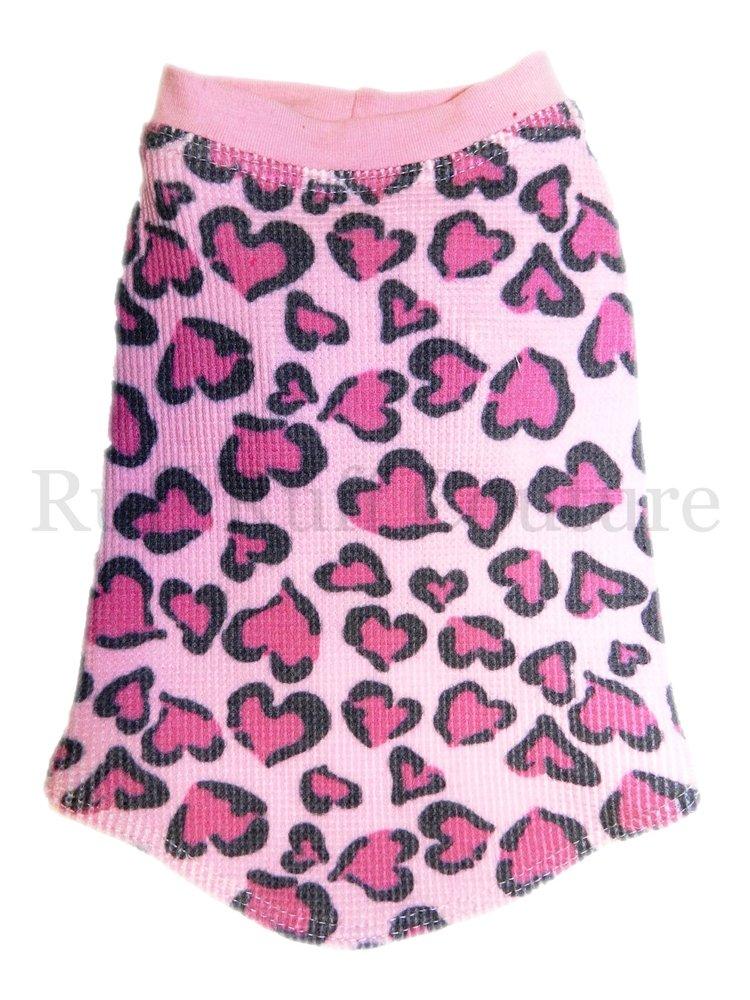 Tattoo Hearts Pink Thermal Tee