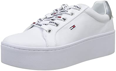 release date 06963 82549 Hilfiger Denim Damen Tommy Jeans Flatform Sneaker