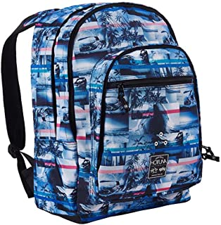 198fc4c3c0b8 Unisex Branded Hot Tuna Summer Print Backpack Rucksack Bag H46 x W35 x D16  cm