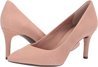 a20611b8033a Rockport Women s Total Motion 75mm Pointy Toe Pump Dusty Peach 5.5 ...