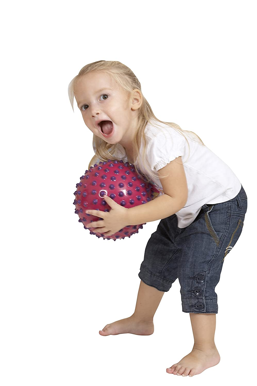 Edushape Ed 715176 Jeu De Balle Coloris Al/éatoire Grande Balle Sensorielle Bicolore