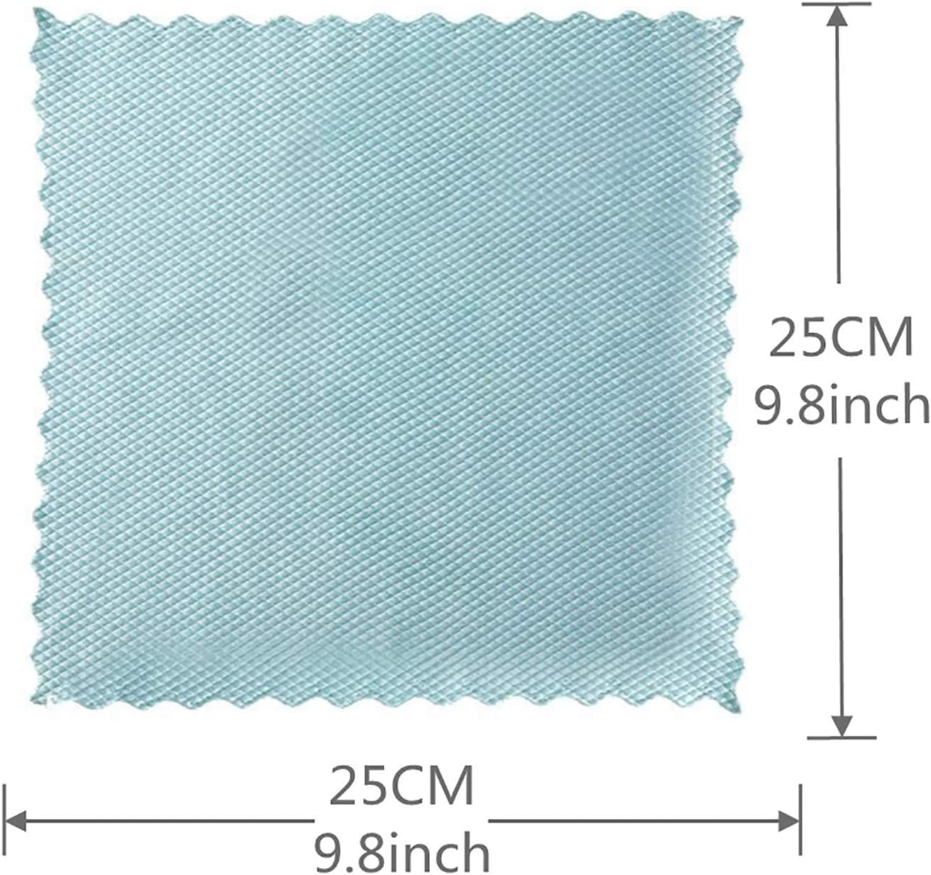 Fish Scale Microfiber Polishing Cleaning Cloth 10pcs for Cleaning Mirror//Glass//Screen Microfiber Cloth Cleaning Rag Glass Towel Lint Free Highly Absorbent Dish Wipes Wave Pattern Fish Scale Cloth