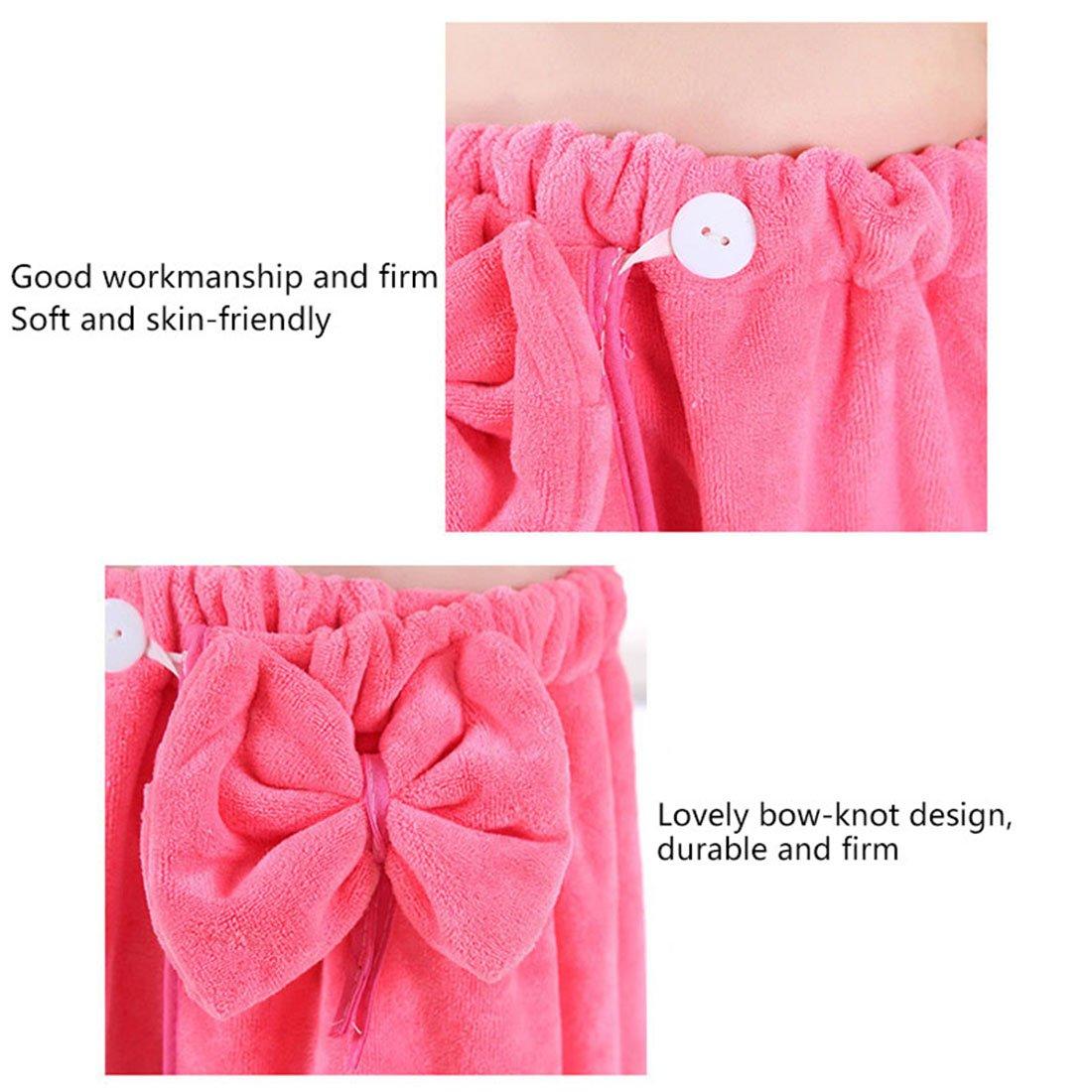 Freahap Kids Bathrobe Girls Bath Towel Wrap Shower Skirt Tube Dressing Beautylife88