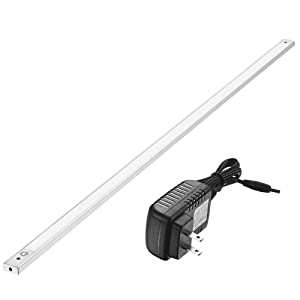 36 Inch Under Cabinet Lighting 4000K - Under Counter Lighting and Under Cabinet LED Lighting by Phonar with 12V Adapter and Sensor Switch