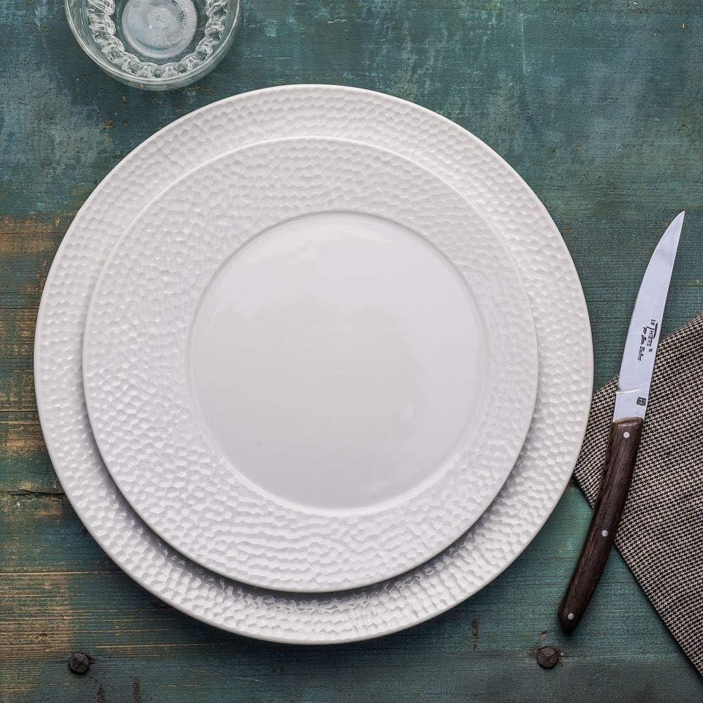 Assiette /à dessert ellipse 23 cm Table Passion lot de 6